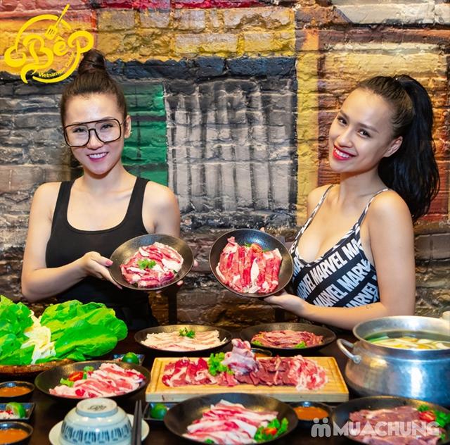 Buffet Lẩu Bò Nhúng Dấm Tại Bếp Quán - Chef Thái, Siêu Đầu Bếp 5* - 13