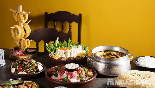 Buffet Lẩu Bò Nhúng Dấm Tại Bếp Quán - Chef Thái, Siêu Đầu Bếp 5* - 25