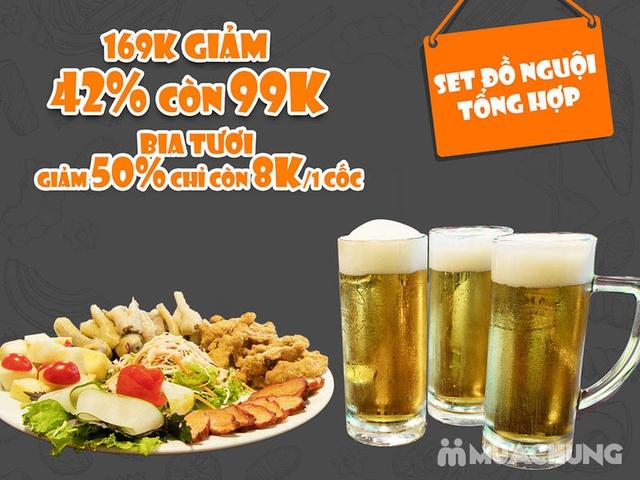 Set Đồ Nguội Kèm Ưu Đãi Uống Bia Henniger Chỉ 8K - 5