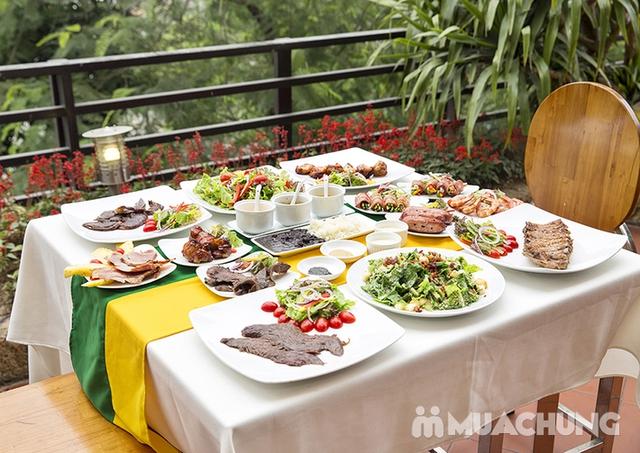 Buffet Vườn Nướng Brazil Kèm Bia Tươi Kozel Tiệp/ Pepsi Tươi - Menu Vip - Carnaval 145 Trung Hòa - 33