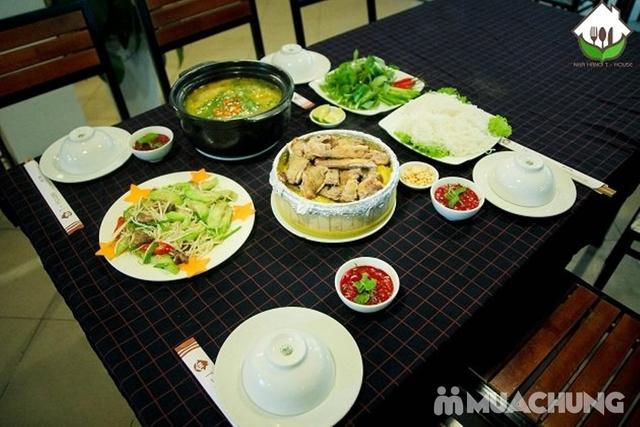 Set vịt trời đủ món cho 4 người Nhà hàng T - House - 11