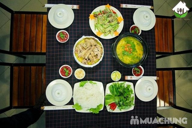 Set vịt trời đủ món cho 4 người Nhà hàng T - House - 6