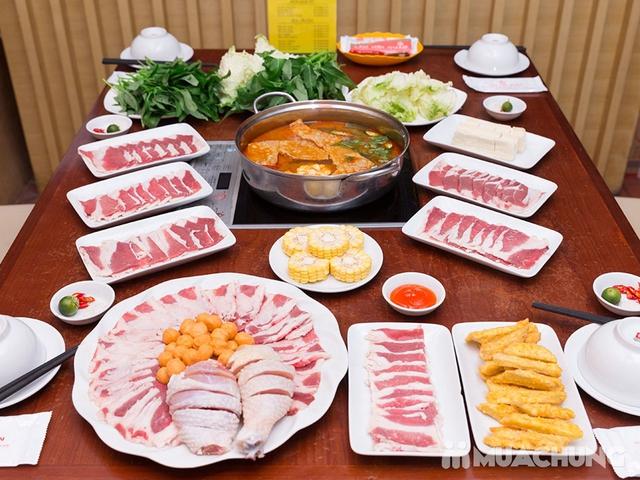 Buffet Lẩu Bò Mỹ thả ga và sét nướng hấp dẫn tại Nhà hàng Lẩu Hội Quán - 1