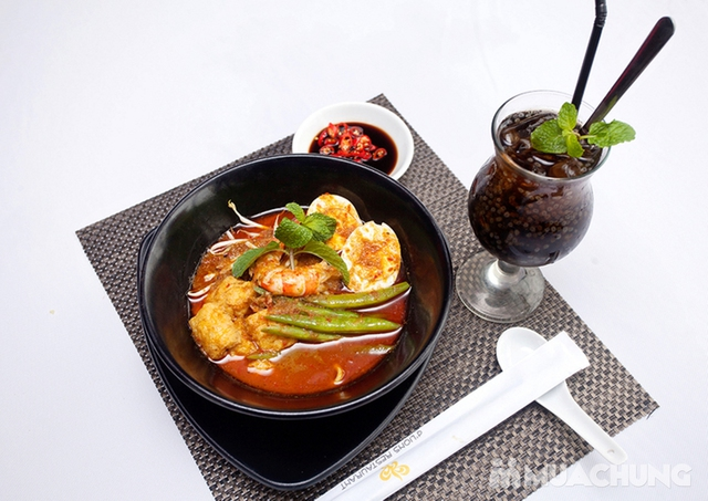 Thế Giới Mỳ Kiểu Mã Lai Đặc Biệt Kèm Đồ Uống Cho 01 Người Tại d'LIONS Restaurant - 8