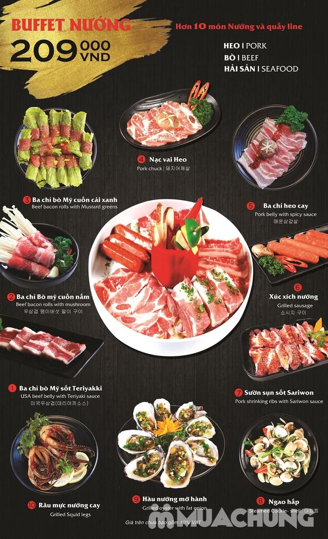 Buffet Nướng Hàn Quốc Cực Chất Tại Sariwon - VinCom Phạm Văn Đồng - 2