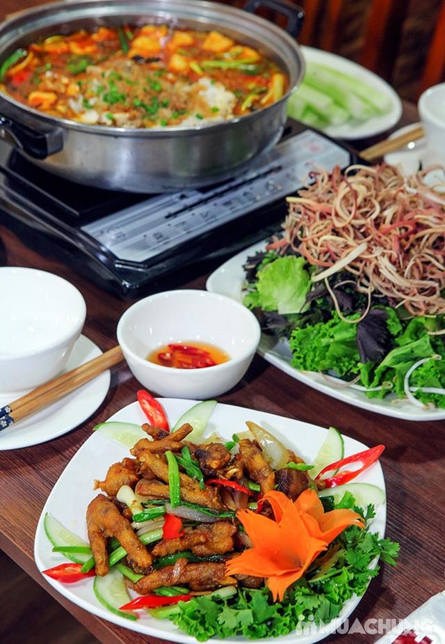 Combo Riêu Cua Bắp Bò, Chim quay, Chân gà chiên mắm cho 4-6 người tại Nhà hàng Hội Quán - 11