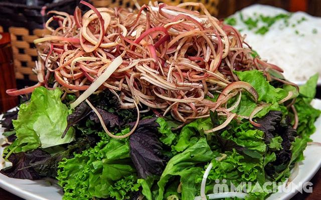 Combo Riêu Cua Bắp Bò, Chim quay, Chân gà chiên mắm cho 4-6 người tại Nhà hàng Hội Quán - 15