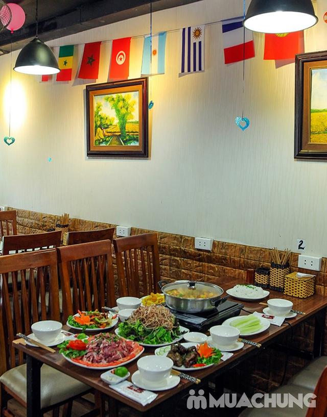 Combo Riêu Cua Bắp Bò, Chim quay, Chân gà chiên mắm cho 4-6 người tại Nhà hàng Hội Quán - 23