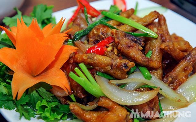 Combo Riêu Cua Bắp Bò, Chim quay, Chân gà chiên mắm cho 4-6 người tại Nhà hàng Hội Quán - 17