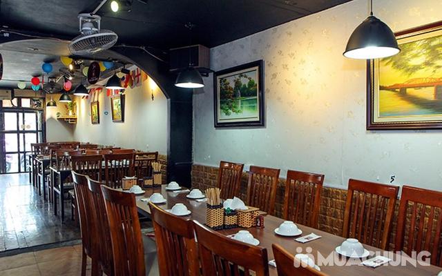 Combo Riêu Cua Bắp Bò, Chim quay, Chân gà chiên mắm cho 4-6 người tại Nhà hàng Hội Quán - 22