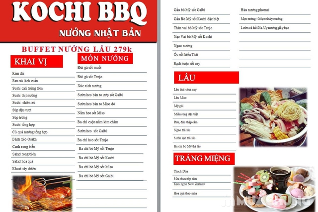 Buffet Nướng Lẩu Giá Cực Shock Tại NH Kochi BBQ – 317 Trần Đại Nghĩa - 17