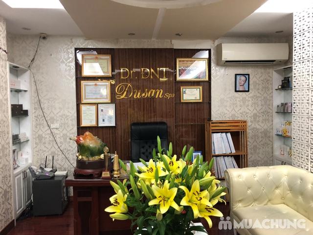 Xông hơi thảo dược, xông khô đá muối & massage body đá nóng thư giãn 90' Dr. ĐNT DUSAN Spa & Clinic - 8
