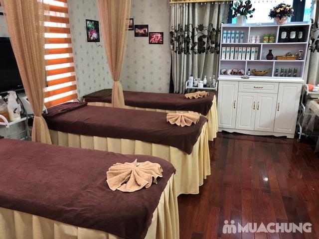 Xông hơi thảo dược, xông khô đá muối & massage body đá nóng thư giãn 90' Dr. ĐNT DUSAN Spa & Clinic - 10