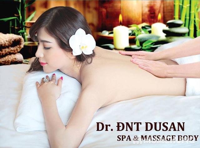 Xông hơi thảo dược, xông khô đá muối & massage body đá nóng thư giãn 90' Dr. ĐNT DUSAN Spa & Clinic - 4