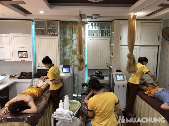 Xông hơi thảo dược, xông khô đá muối & massage body đá nóng thư giãn 90' Dr. ĐNT DUSAN Spa & Clinic - 16