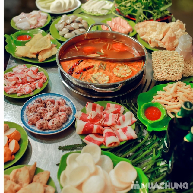 HOT - Siêu giảm giá ăn no say Buffet lẩu 79k Quán Anh Béo - 8