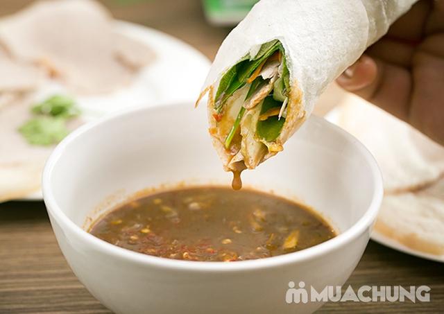 Set Bánh tráng cuốn thịt heo + Gà bó xôi + Bún nêm tại Nhà hàng Tam Kỳ Quán - Lý Thái Tổ - 9