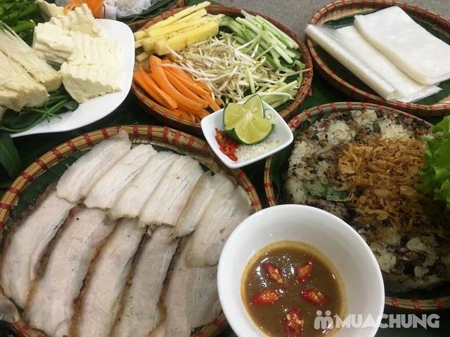 Set Bánh tráng cuốn thịt heo + Gà bó xôi + Bún nêm tại Nhà hàng Tam Kỳ Quán - Lý Thái Tổ - 7