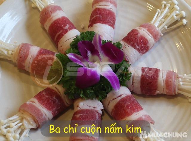 Thưởng thức các món đặc sản Gà, Cá, Bò, Lợn rừng ngon hấp dẫn cho 6 người Nhà hàng iSteam - 14