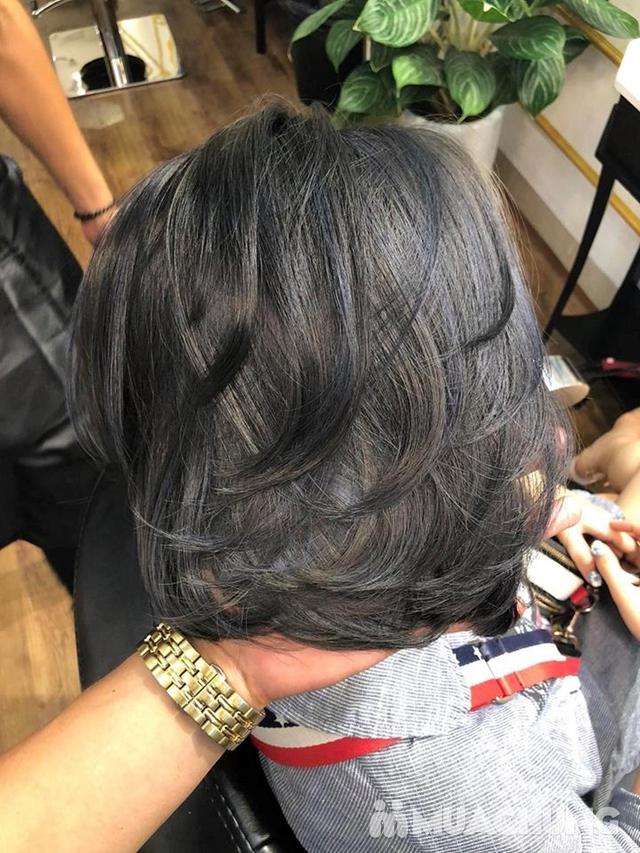 Trọn gói làm tóc Uốn/Nhuộm tại SALON TONY DUY chuyên về tạo kiểu Tóc Ngắn - 16