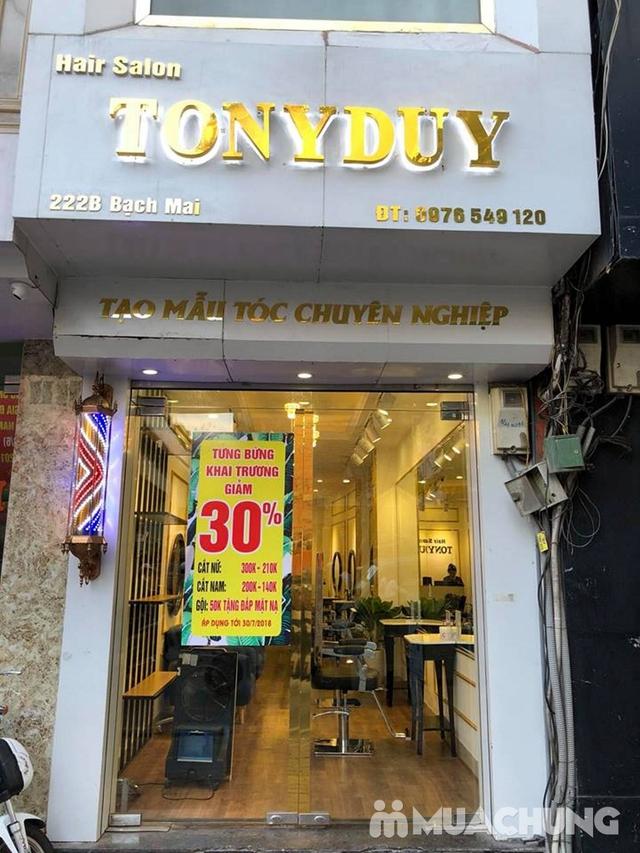 Trọn gói làm tóc Uốn/Nhuộm tại SALON TONY DUY chuyên về tạo kiểu Tóc Ngắn - 29