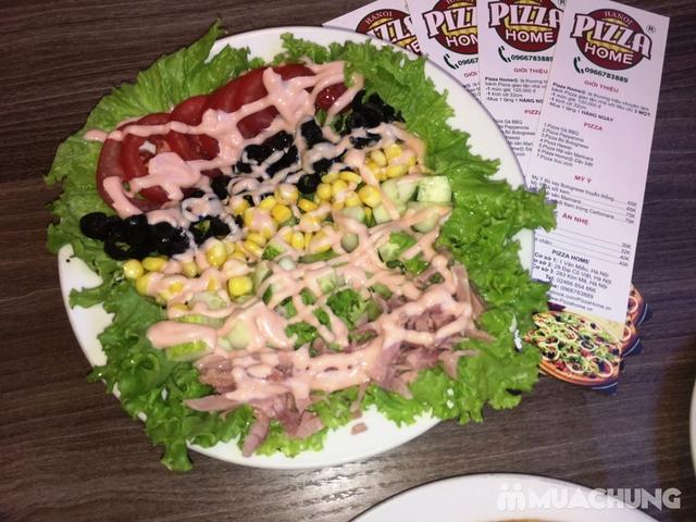 Combo Pizza + khoai tây chiên + salad hấp dẫn tại Pizza Home - 5