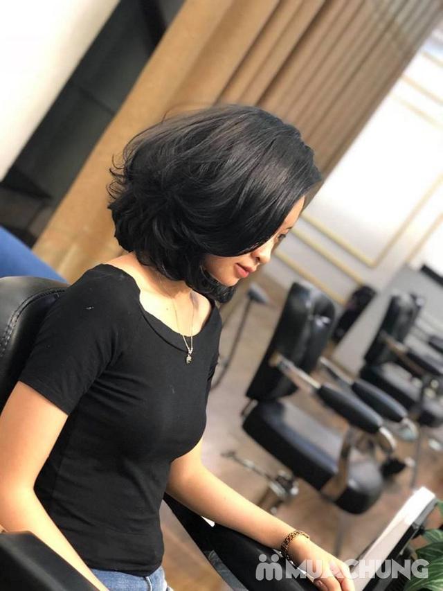 Trọn gói làm tóc Uốn/Nhuộm tại SALON TONY DUY chuyên về tạo kiểu Tóc Ngắn - 9