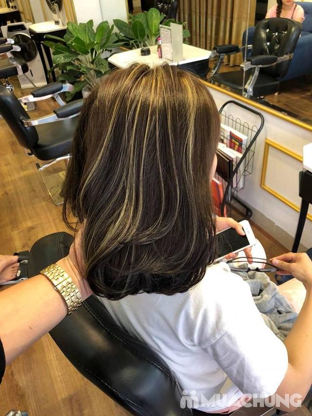 Trọn gói làm tóc Uốn/Nhuộm tại SALON TONY DUY chuyên về tạo kiểu Tóc Ngắn - 14