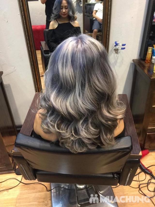 Trọn gói làm tóc Uốn/Nhuộm tại SALON TONY DUY chuyên về tạo kiểu Tóc Ngắn - 11