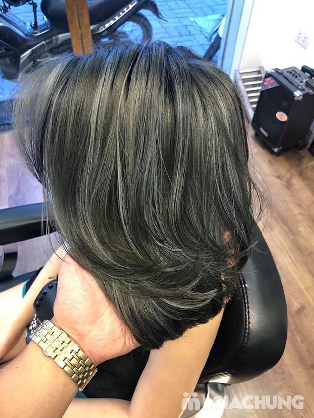 Trọn gói làm tóc Uốn/Nhuộm tại SALON TONY DUY chuyên về tạo kiểu Tóc Ngắn - 13