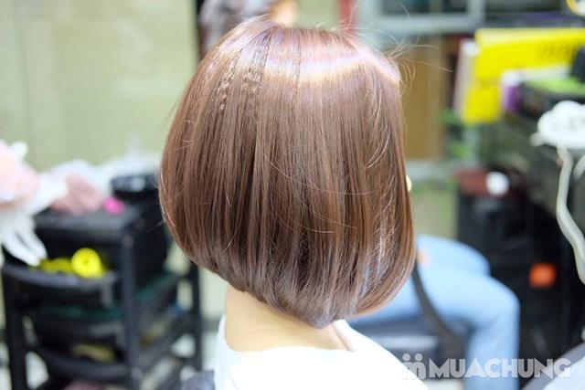 Trọn gói làm tóc Uốn/Nhuộm tại SALON TONY DUY chuyên về tạo kiểu Tóc Ngắn - 4