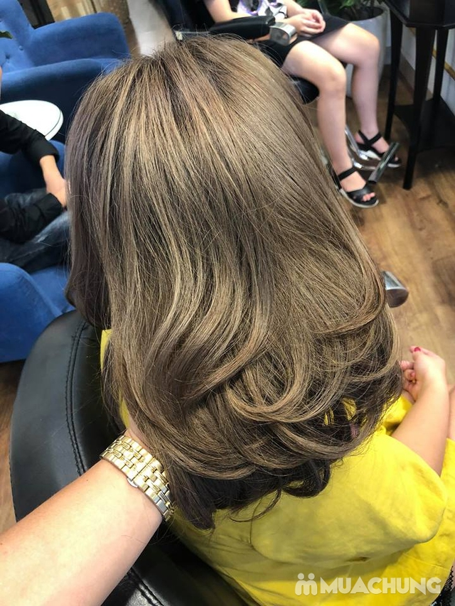 Trọn gói làm tóc Uốn/Nhuộm tại SALON TONY DUY chuyên về tạo kiểu Tóc Ngắn - 19