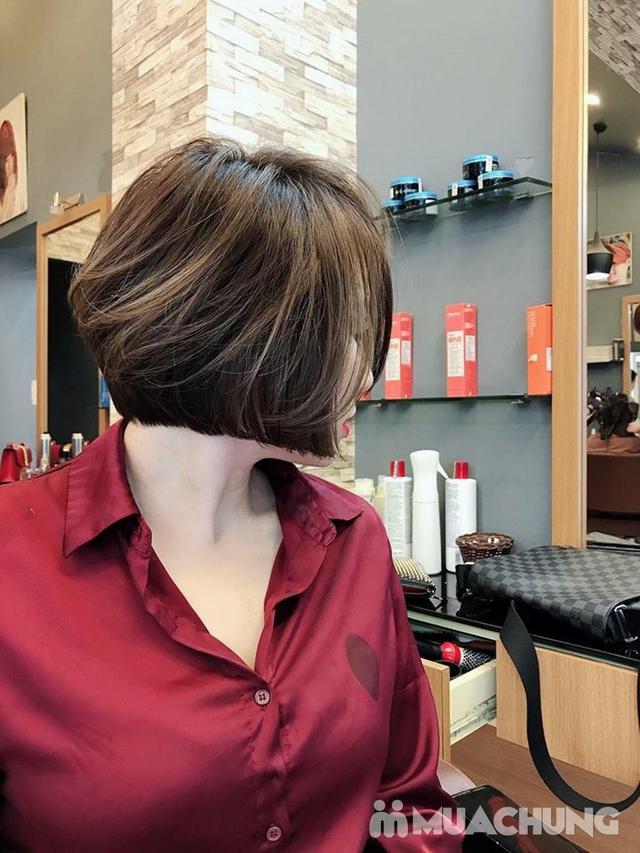 Trọn gói làm tóc Uốn/Nhuộm tại SALON TONY DUY chuyên về tạo kiểu Tóc Ngắn - 6