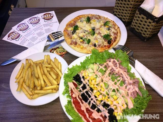 Combo Pizza + khoai tây chiên + salad hấp dẫn tại Pizza Home - 1