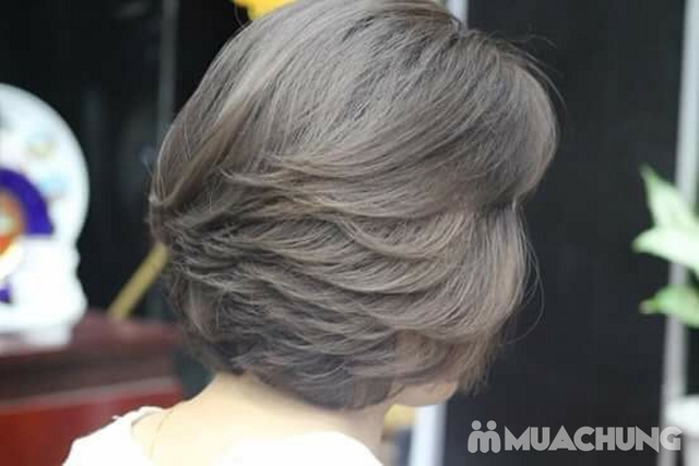 Trọn gói làm tóc cao cấp, cam kết thuốc chính hãng tặng hấp phục hồi Viện tóc Thành Đạt - 11