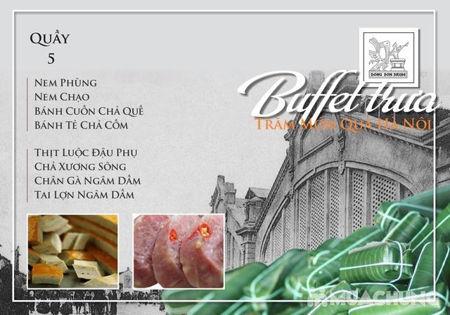 Thưởng thức Buffet trưa Quà Hà Nội hương vị đặc sắc tại DONG SON DRUM - RESTAURANTThưởng thức Buffet trưa Trăm món Quà Hà Nội hương vị đặc s - 5