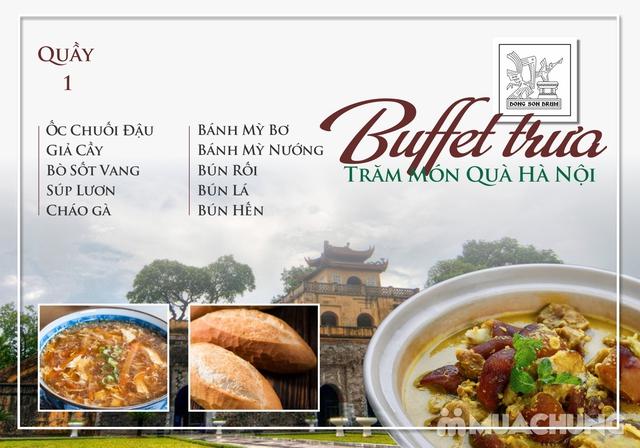 Thưởng thức Buffet trưa Quà Hà Nội hương vị đặc sắc tại DONG SON DRUM - RESTAURANTThưởng thức Buffet trưa Trăm món Quà Hà Nội hương vị đặc s - 1
