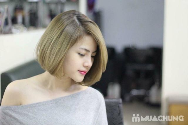 Trọn gói làm tóc cao cấp, cam kết thuốc chính hãng tặng hấp phục hồi Viện tóc Thành Đạt - 12