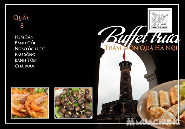 Thưởng thức Buffet trưa Quà Hà Nội hương vị đặc sắc tại DONG SON DRUM - RESTAURANTThưởng thức Buffet trưa Trăm món Quà Hà Nội hương vị đặc s - 8