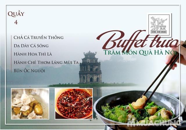 Thưởng thức Buffet trưa Quà Hà Nội hương vị đặc sắc tại DONG SON DRUM - RESTAURANTThưởng thức Buffet trưa Trăm món Quà Hà Nội hương vị đặc s - 4