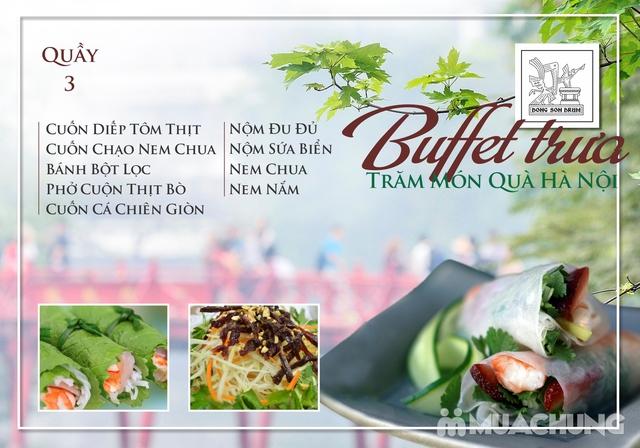 Thưởng thức Buffet trưa Quà Hà Nội hương vị đặc sắc tại DONG SON DRUM - RESTAURANTThưởng thức Buffet trưa Trăm món Quà Hà Nội hương vị đặc s - 3