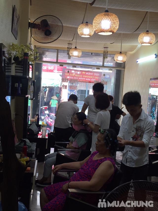 Combo Cắt tạo kiểu + gội + Nhuộm màu thời trang/nhuộm phủ bạc/nhuộm màu 3D Viện tóc Thành Đạt - 27