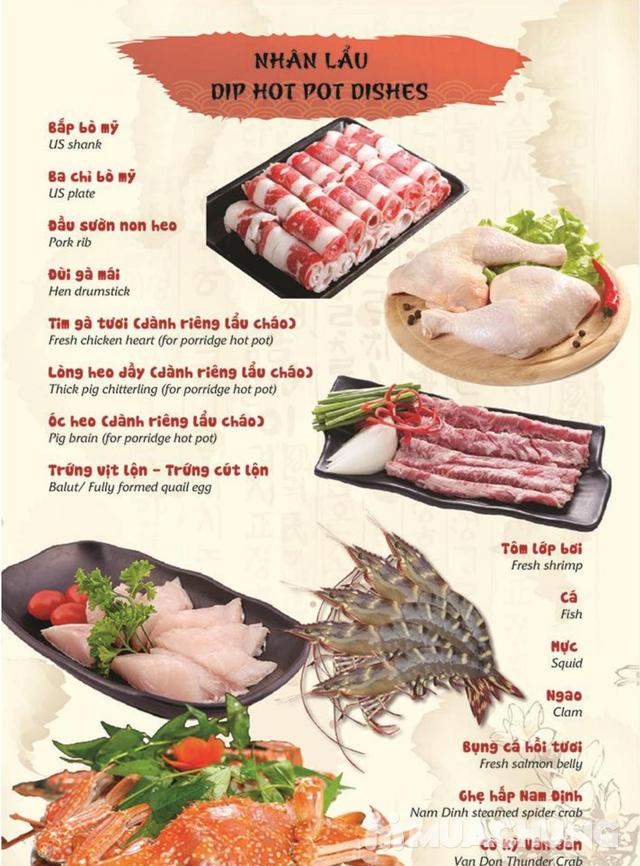 Đẳng Cấp Buffet Nướng Và Lẩu Hải sản Ăn Thả Ga - Galbi Buffet - Royal City MENU MỚI - 25