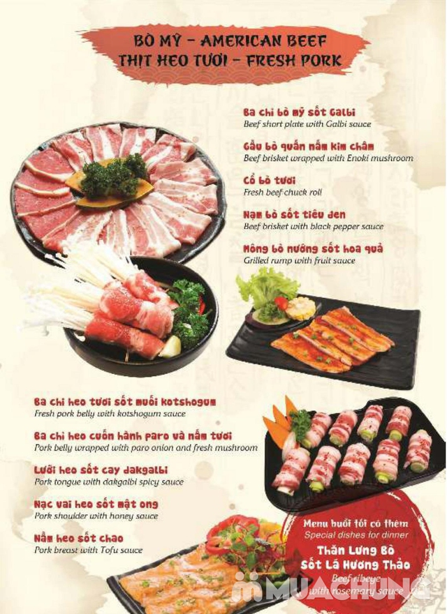 Buffet VIP Nướng Lẩu Hải Sản, thịt tươi ngon tặng đồ uống - Galbi BBQ - 2