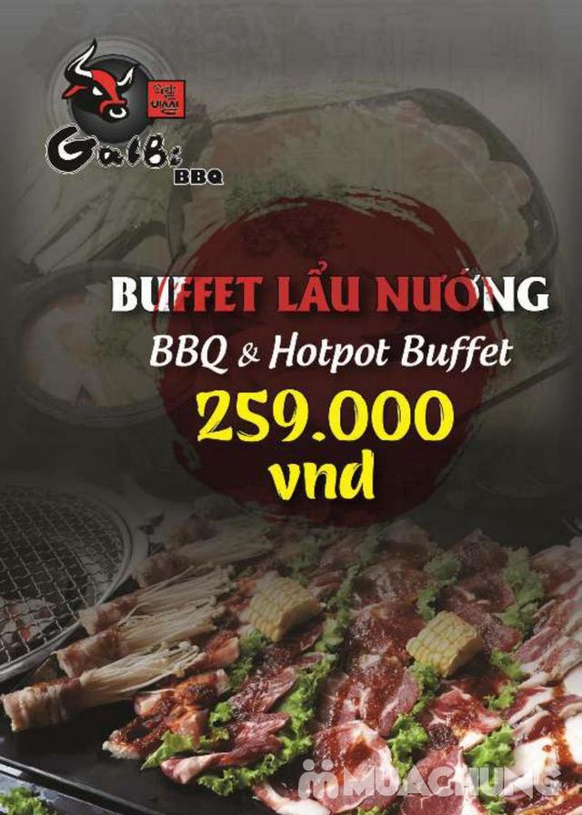 Buffet VIP Nướng Lẩu Hải Sản, thịt tươi ngon tặng đồ uống - Galbi BBQ - 1