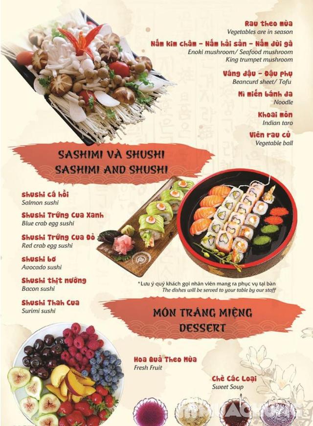 Đẳng Cấp Buffet Nướng Và Lẩu Hải sản Ăn Thả Ga - Galbi Buffet - Royal City MENU MỚI - 26
