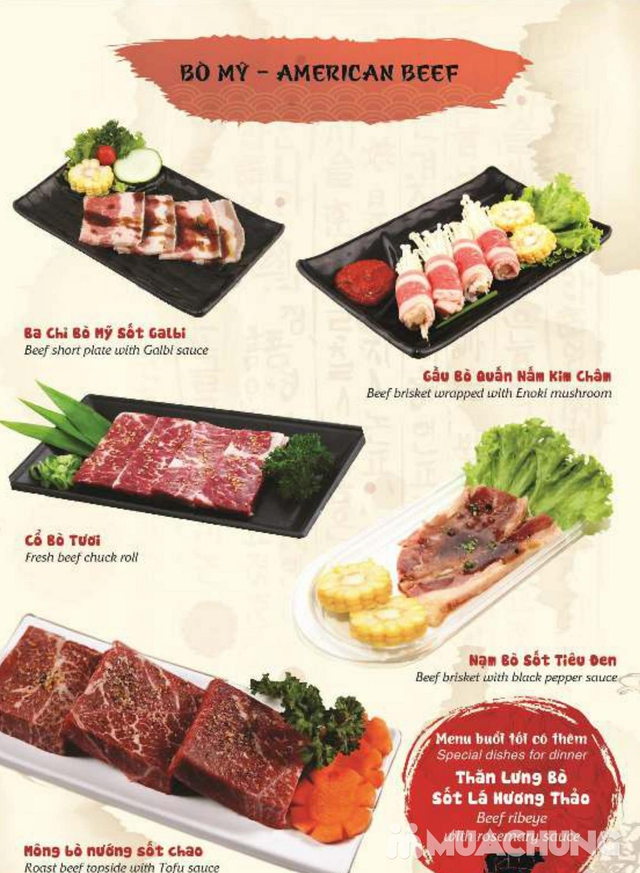 Buffet Nướng hải sản, thịt tươi ngon, thêm món kèm đồ uống - Galbi BBQ - 26