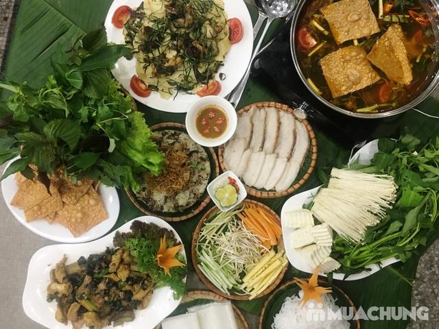Combo bánh tráng cuốn thịt heo, lẩu ếch măng cay & nhiều món hấp dẫn - Tam Kỳ Quán - 9