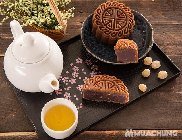 Hộp bánh Trung thu cao cấp Sắc Nguyệt Bảo Ngọc - Tinh hoa hương vị Việt - 5