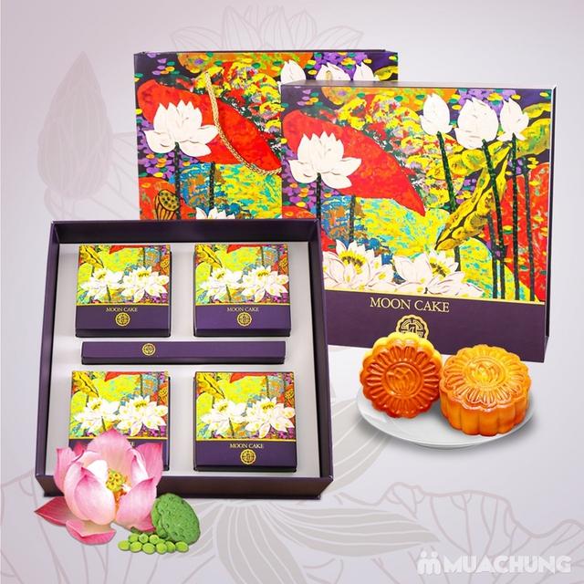 Hộp bánh Trung thu cao cấp Sắc Nguyệt Bảo Ngọc - Tinh hoa hương vị Việt - 1
